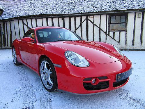 Porsche Cayman S 3.4 Manual - SOLD