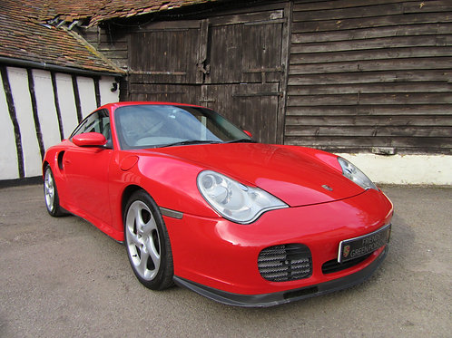 Porsche 996 Turbo Manual - SOLD