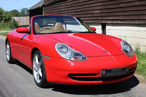 Porsche 911 996 Convertible Manual - SOLD