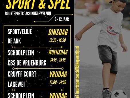 Sport & Spel voor kinderen in Barendrecht