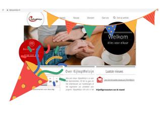 Nieuwe website voor KijkopWelzijn!