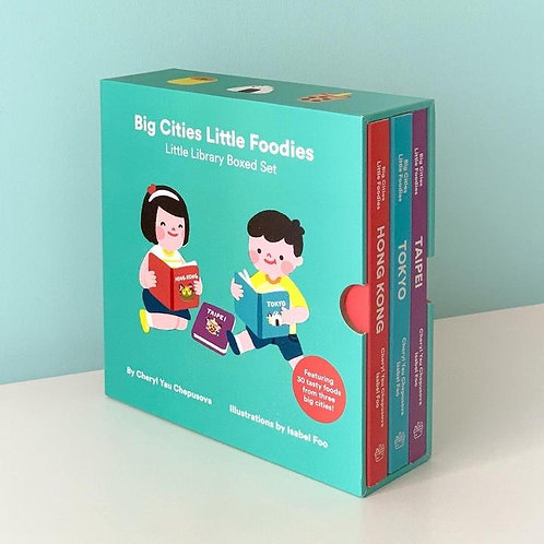 Big Cities Little Foodies - Box Set