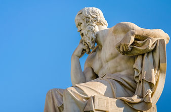 Marble statue of the Great ancient Greek
