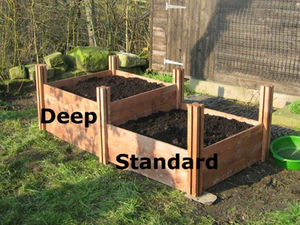 What Soil Depth For Planting Vegetables In A Raised Bed