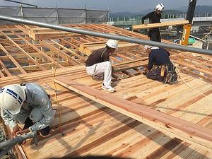 諫早市の工務店スマイフルホームで新築した長崎の注文住宅・工事