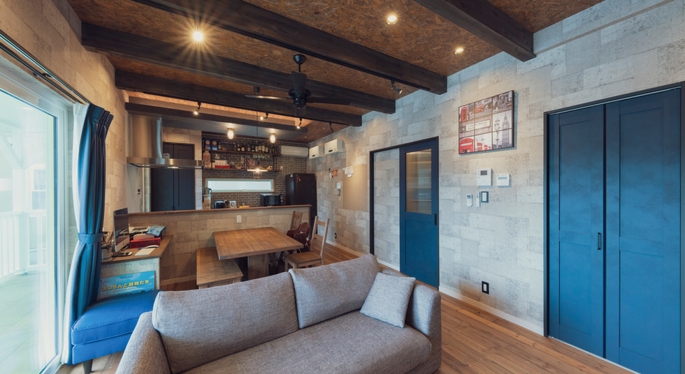 諫早の工務店スマイフルホームで新築した島原の注文住宅のリビング