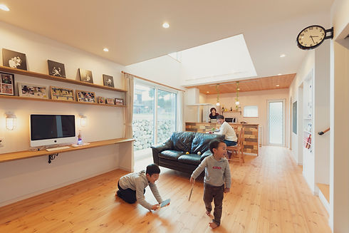 諫早市の工務店スマイフルホームで新築した長崎の注文住宅の無垢フロア