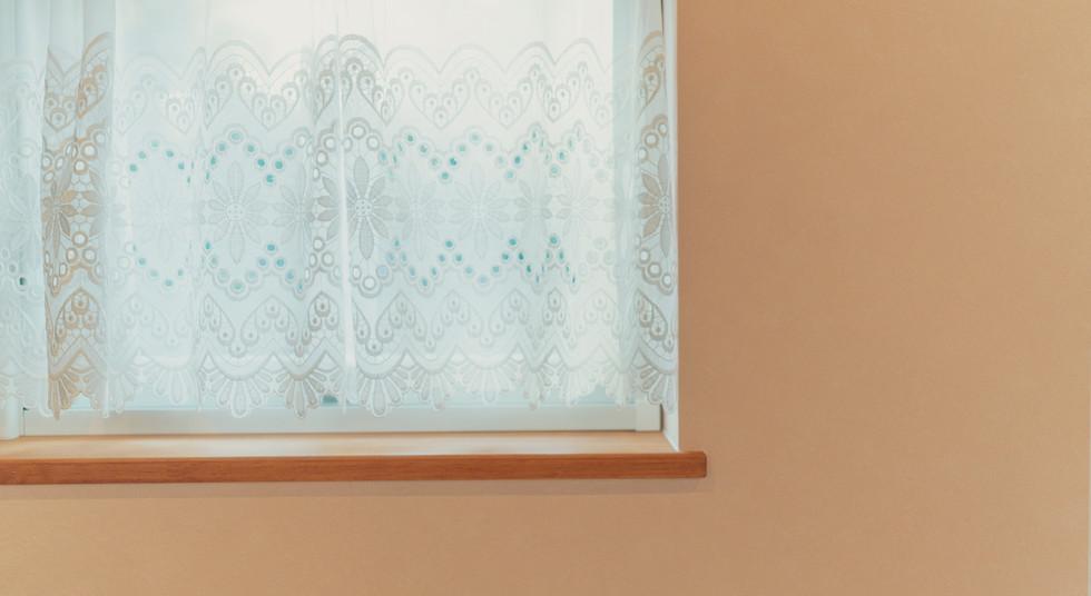 諫早市の工務店スマイフルホームで新築した長崎の注文住宅の窓枠
