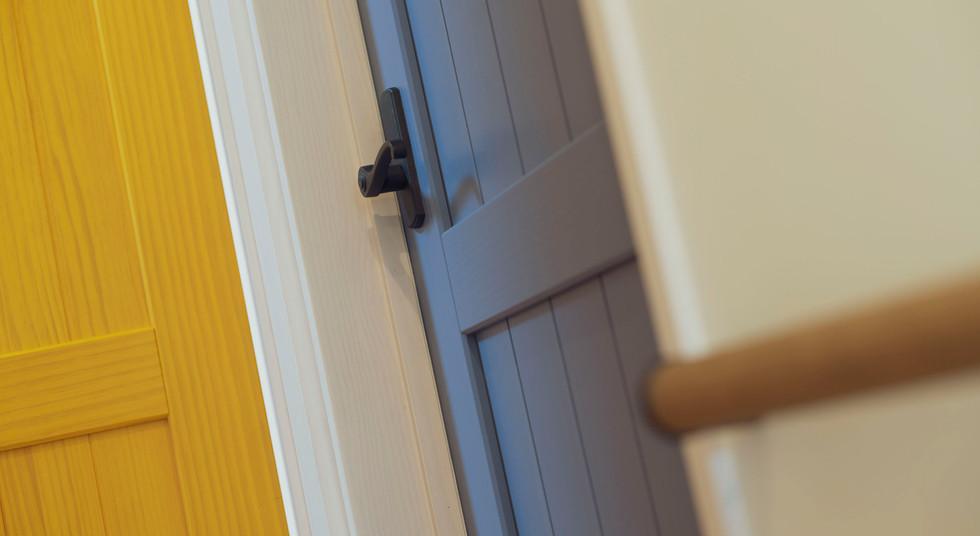 諫早市の工務店スマイフルホームで新築した長崎の注文住宅のドア