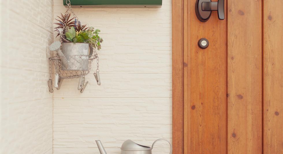 諫早市の工務店スマイフルホームで新築した長崎の可愛い注文住宅のポスト
