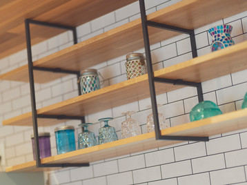 諫早市の工務店スマイフルホームで新築した長崎の格好いい注文住宅のフレームインテリア