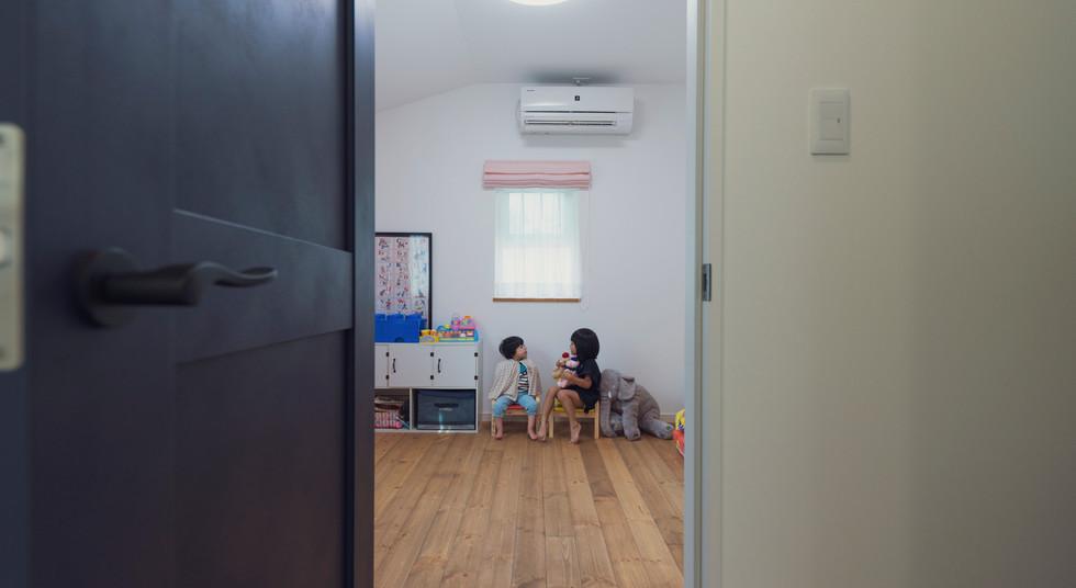 諫早の工務店スマイフルホームで新築した大村の注文住宅のキッズルーム