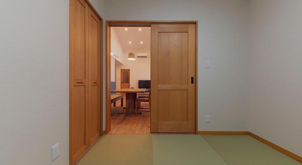 諫早の工務店スマイフルホームで新築した大村の注文住宅の和室