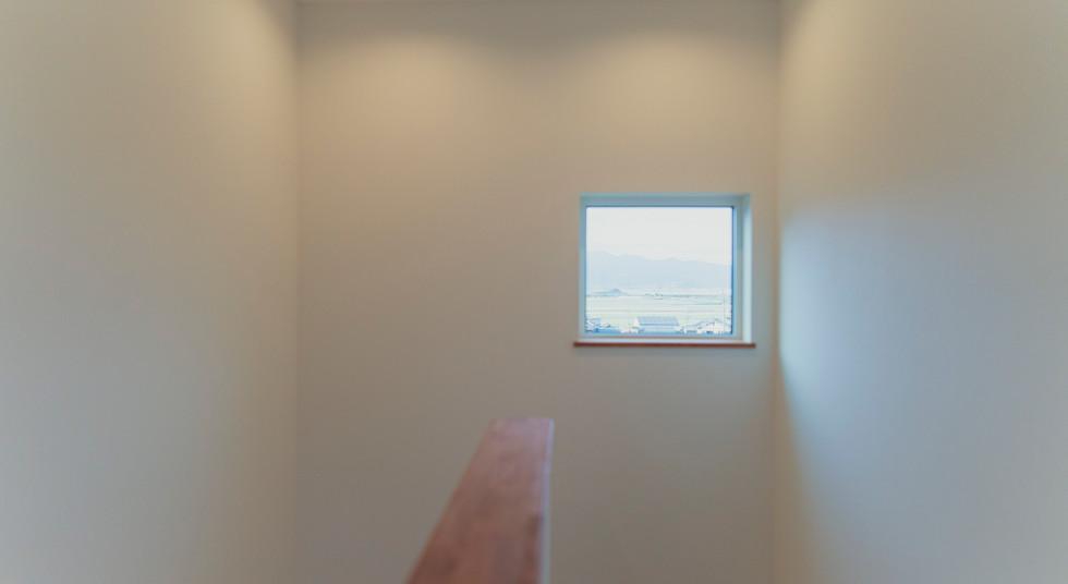 諫早市の工務店スマイフルホームで新築した長崎の注文住宅の階段