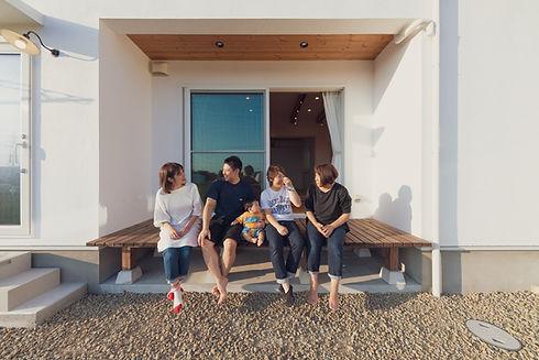 諫早市の工務店スマイフルホームで新築した長崎の注文住宅の2世帯住宅