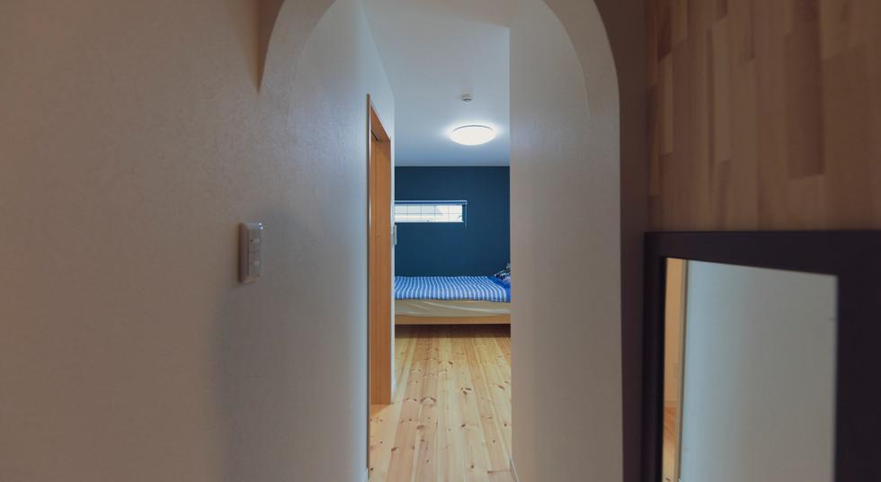 諫早市の工務店スマイフルホームで新築した長崎の注文住宅のベッドルーム