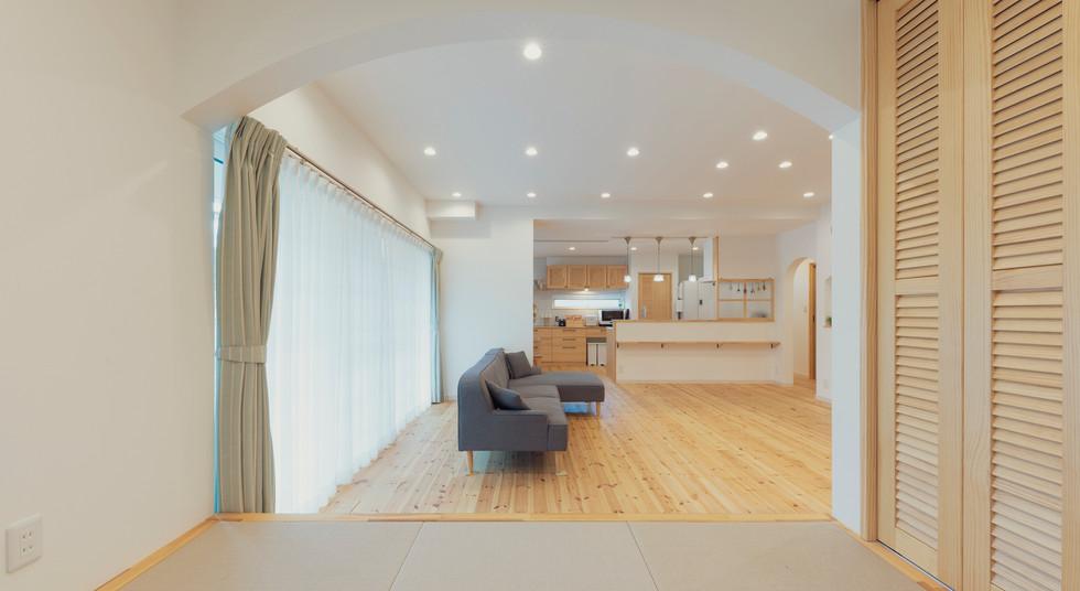 諫早の工務店スマイフルホームで新築した島原の注文住宅の和室