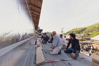 諫早市の工務店スマイフルホームで新築した長崎の注文住宅の棟上げ