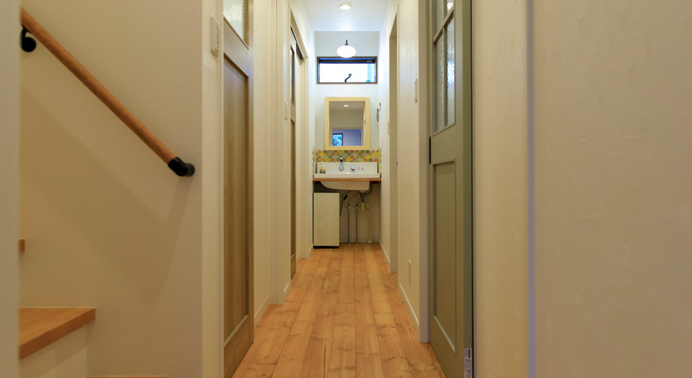 諫早市の工務店スマイフルホームで新築した長崎の注文住宅の洗面