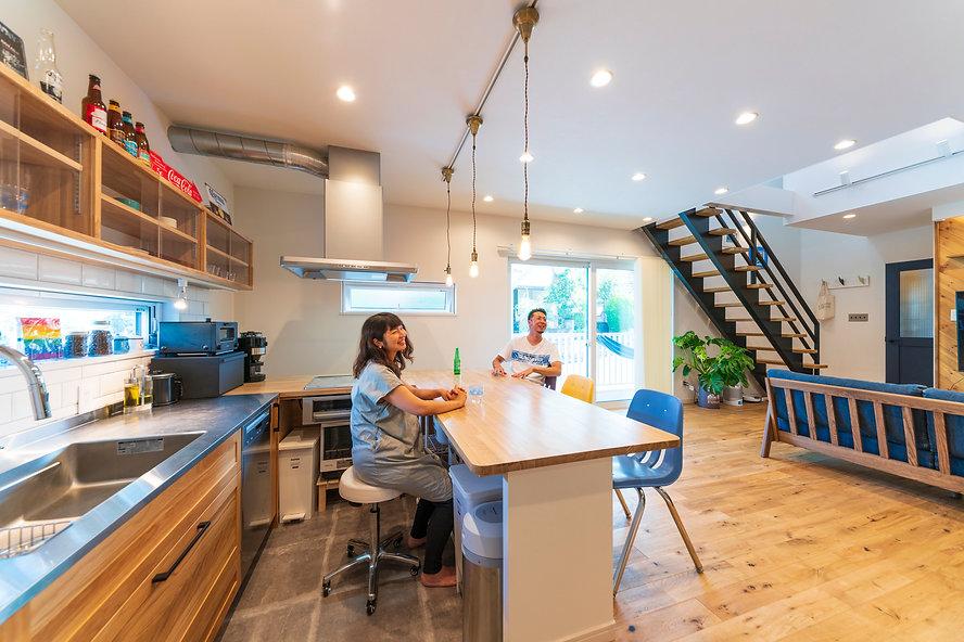 諫早市の注文住宅会社スマイフルホームが建てたサーファーズハウス