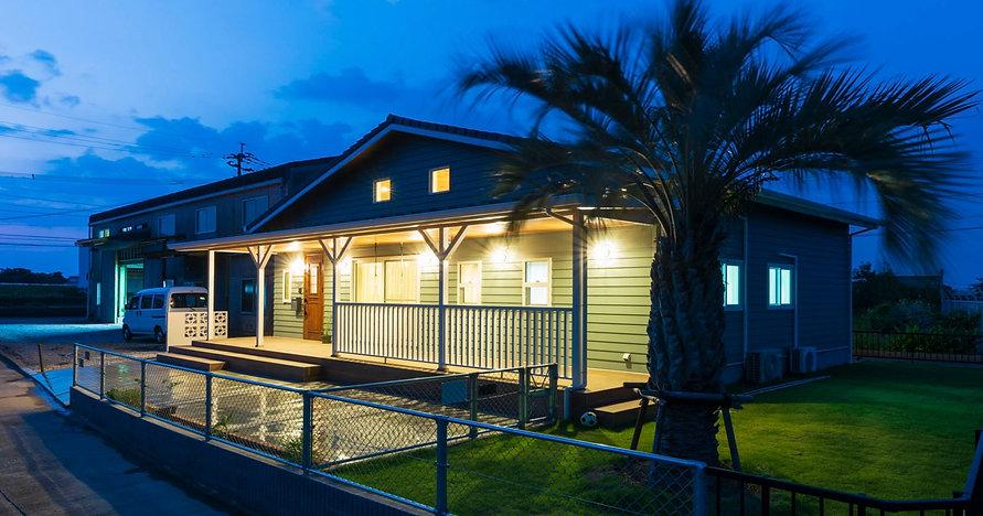 諫早の工務店スマイフルホームで新築した島原の注文住宅のサーファーズハウス