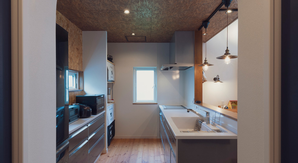 諫早の工務店スマイフルホームで新築した島原の注文住宅のキッチン