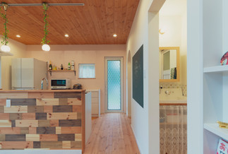 諫早市の工務店スマイフルホームで新築した長崎のクールな注文住宅の導線