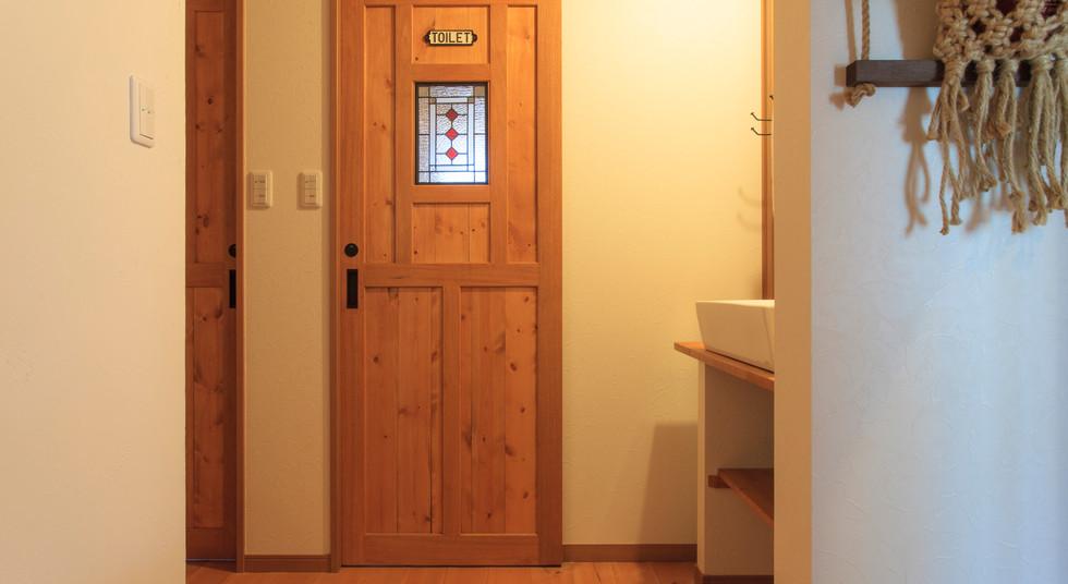 諫早市の工務店スマイフルホームで新築した長崎の注文住宅のトイレ
