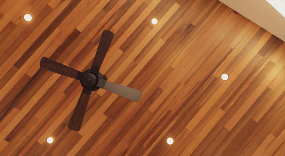 諫早の工務店スマイフルホームで新築した島原の注文住宅のシーリングファン