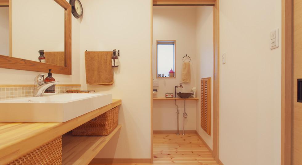 諫早市の工務店スマイフルホームで新築した長崎の可愛い注文住宅の導線