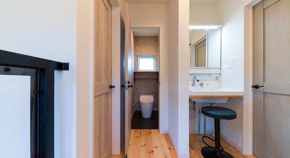 諫早の工務店スマイフルホームで新築した大村の注文住宅のトイレ