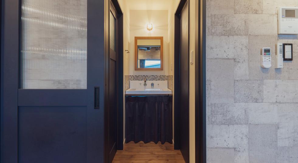 諫早の工務店スマイフルホームで新築した島原の注文住宅の洗面