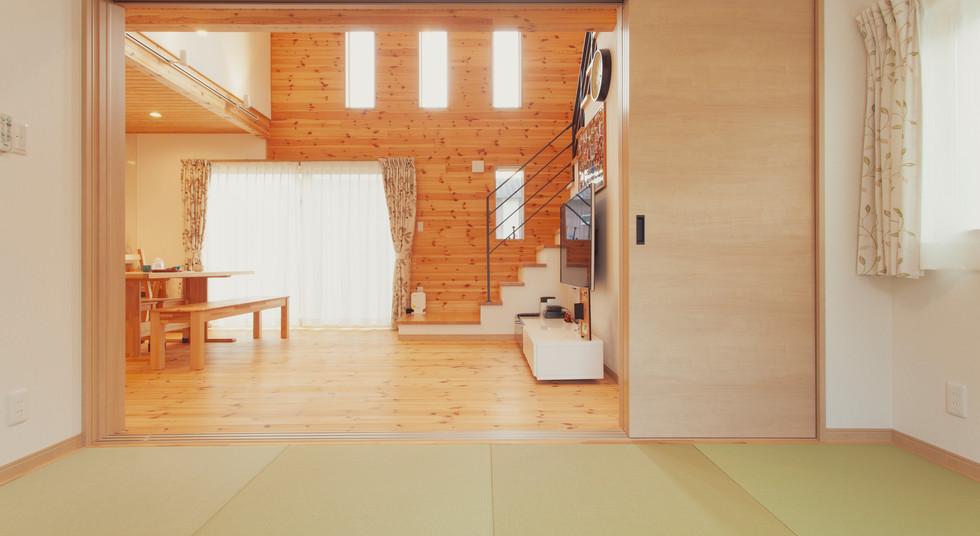 諫早市の工務店スマイフルホームで新築した長崎の可愛い注文住宅の和室