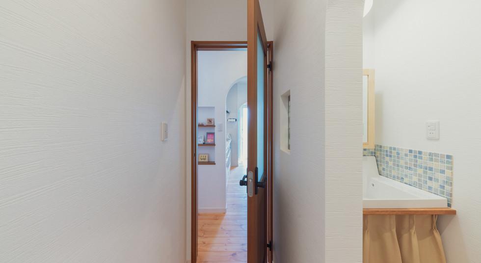 諫早の工務店スマイフルホームで新築した大村の注文住宅のキッチン導線