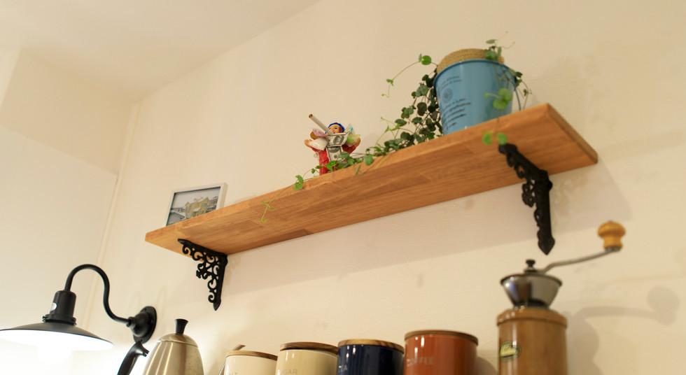諫早市の工務店スマイフルホームで新築した長崎の注文住宅の飾り棚