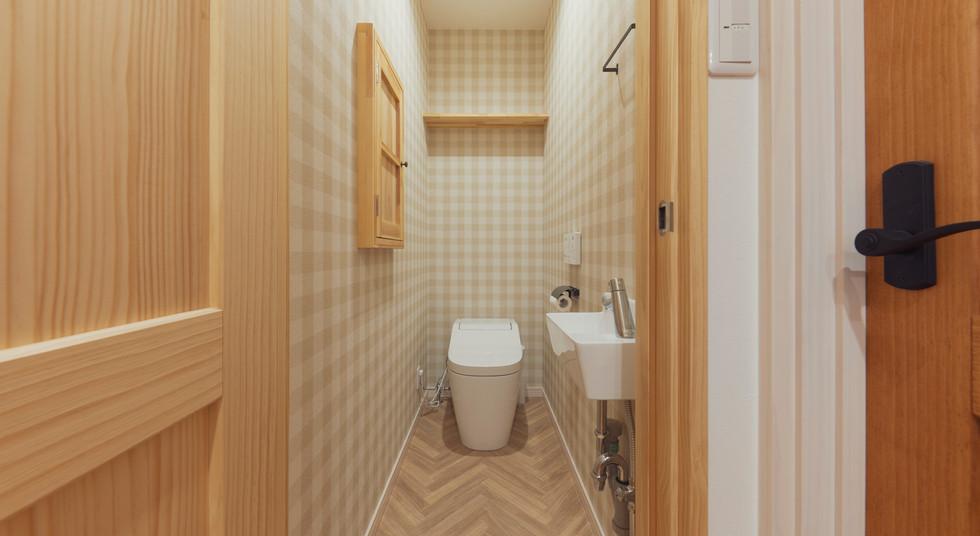 諫早の工務店スマイフルホームで新築した島原の注文住宅のトイレ