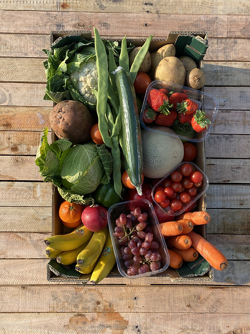 £25 Mixed Fruit & Veg Box