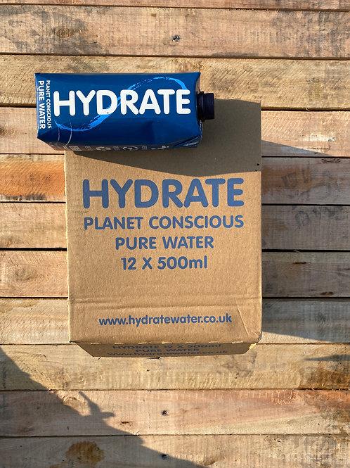 Hydrate Water 12 x 500ml Still Water