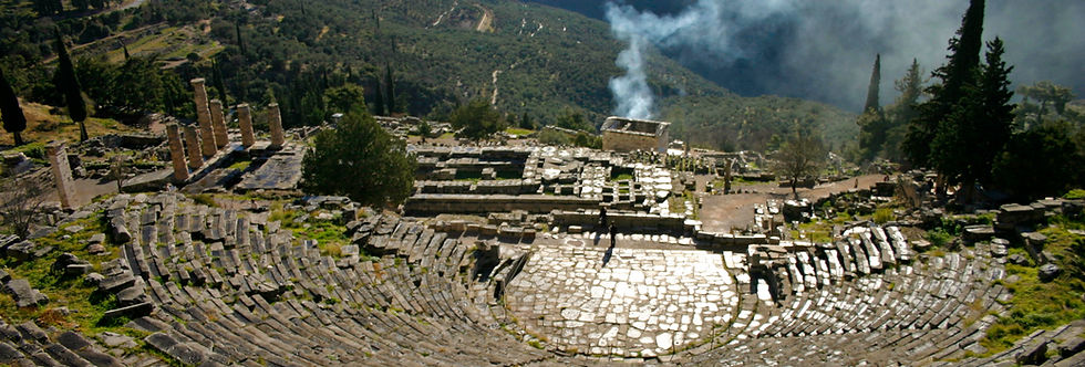 Mount Parnassus Delphi