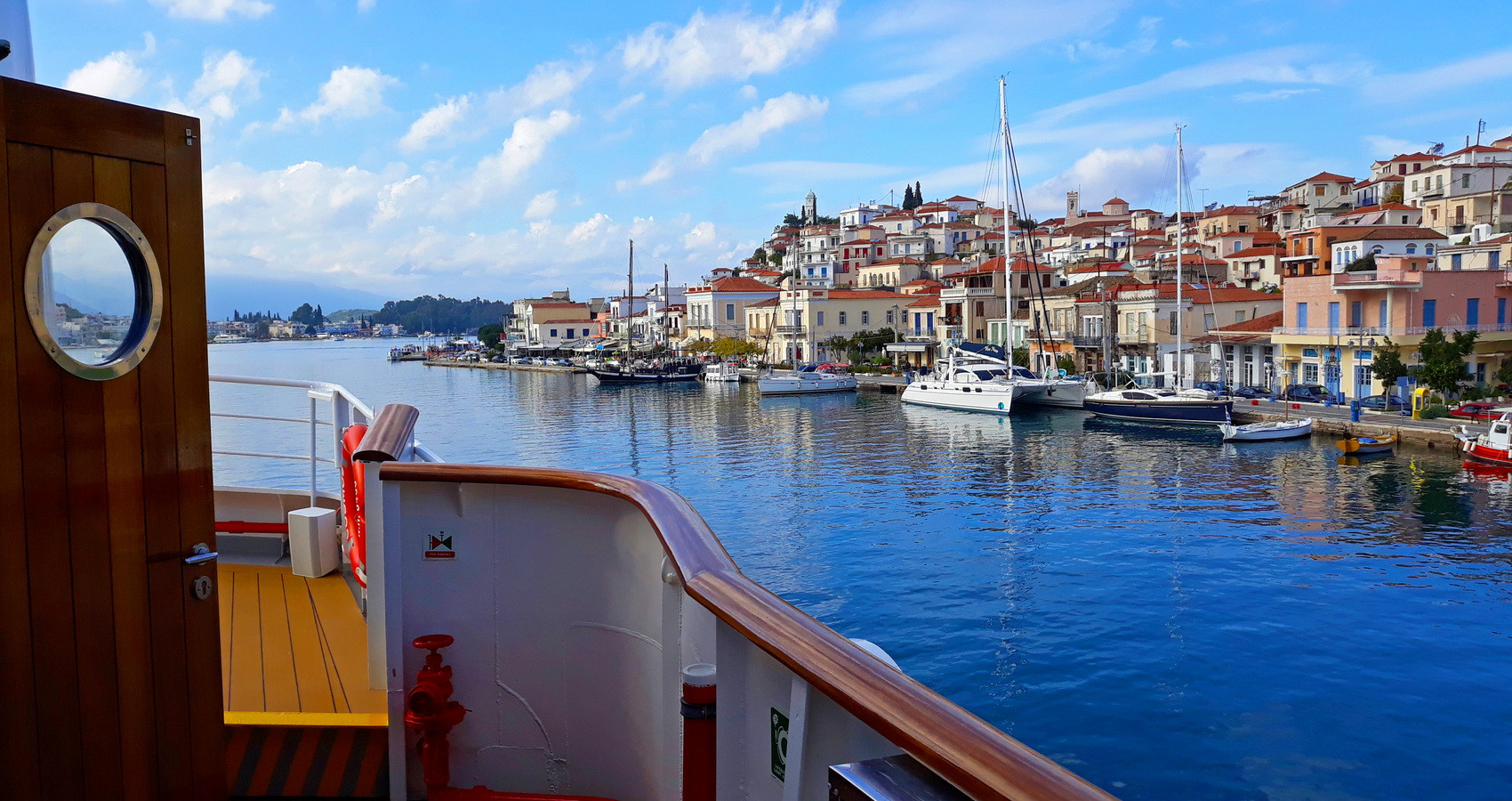 POROS VIEW FROM SHIP