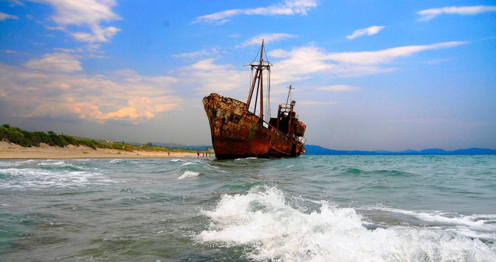 GYTHION SHIP WRECK