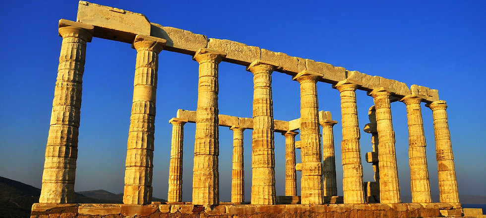 SOUNION POSEIDON TEMPLE