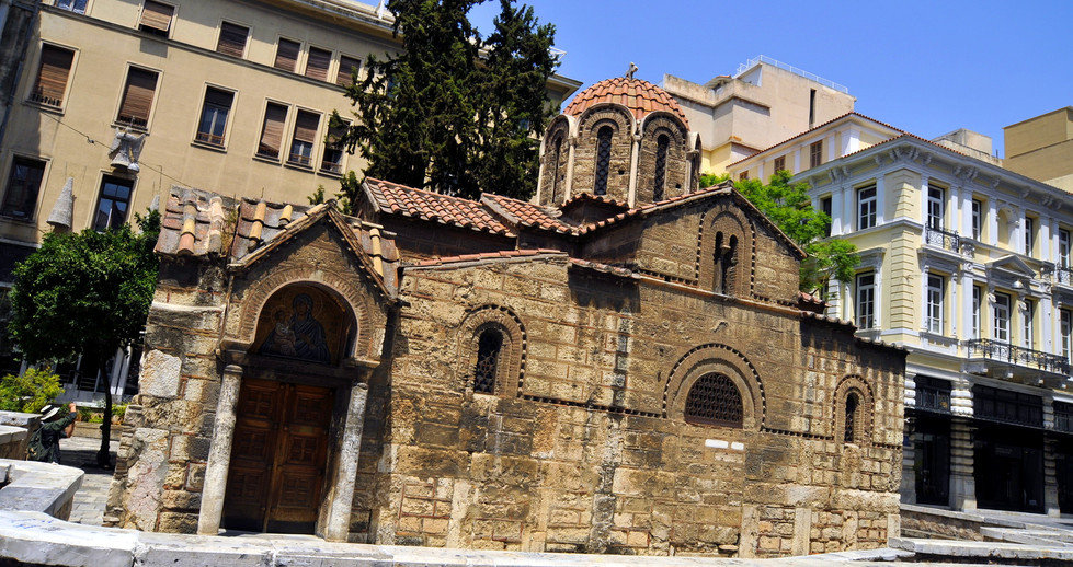 KAPNIKAREA CHURCH