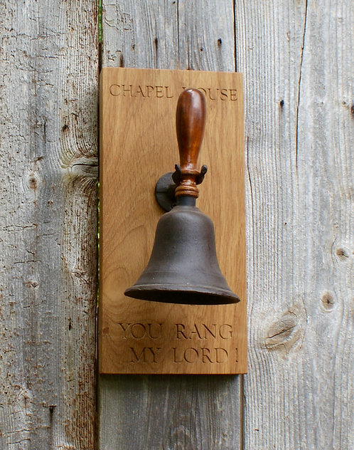 Hand Bell & Personalised Board