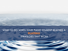 What to Do When Your Student Plateaus. 5 Strategies That Work.