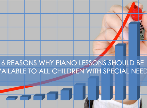 6 reasons why piano lessons should be available to all children with special needs.