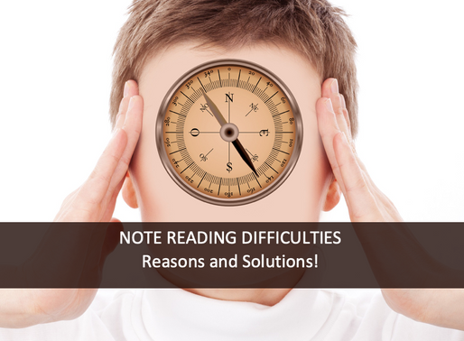 Note Reading Difficulties: Reasons and Solutions!