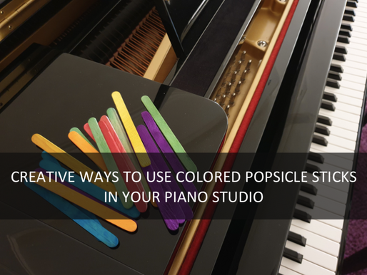 Creative ways to use colored popsicle sticks in your studio.