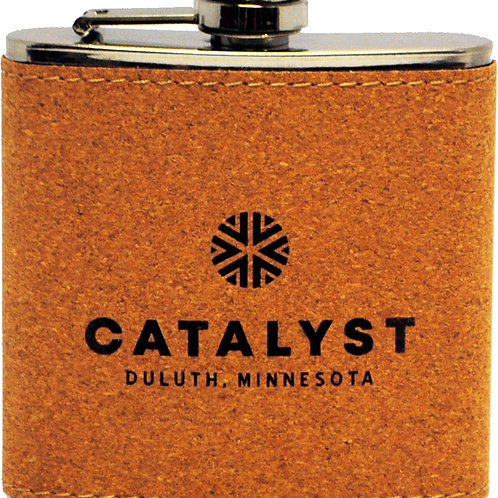 CORK STAINLESS STEEL FLASK