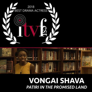 Best Drama Actress 2018 - Vongai Shava